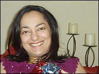 Neetu Jain, innocent victim killed by extremists in the London Bombings in July 2005