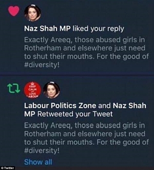 Naz Shah MP - complete idiot and a betrayal to the people in the UK