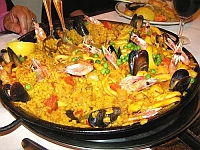 Spanish food and Spanish recipes Paella