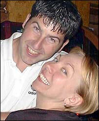 Samantha Badham and Lee Harris, innocent victims killed by extremists in the London Bombings in July 2005