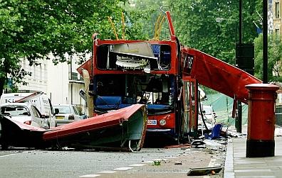 Tavistock Square bus bomb - July 2005