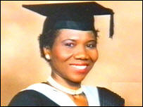 Ojara Ikeagwu, innocent victim killed by extremists in the London Bombings in July 2005