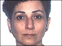 Behnaz Mozakka, innocent victim killed by extremists in the London Bombings in July 2005