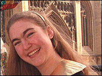 Jenny Nicholson, innocent victim killed by extremists in the London Bombings in July 2005