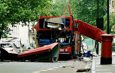 Tavistock Square bus bomb - July 2005